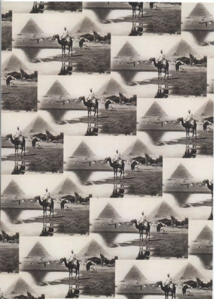 A4 Egyptian Treasures Pyramids